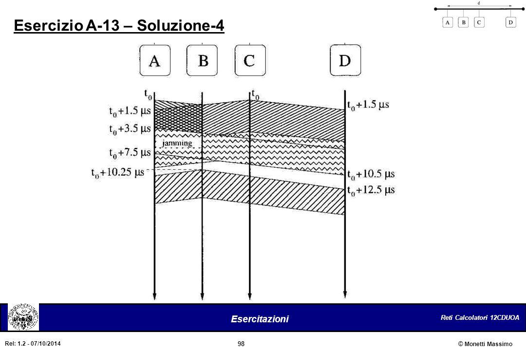 Esercizio A-13 – Soluzione-4