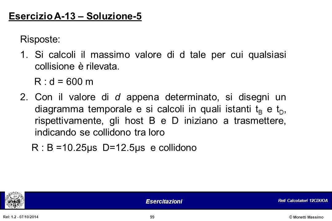 Esercizio A-13 – Soluzione-5