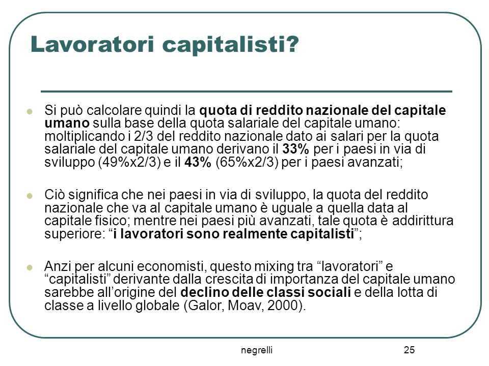 Lavoratori capitalisti
