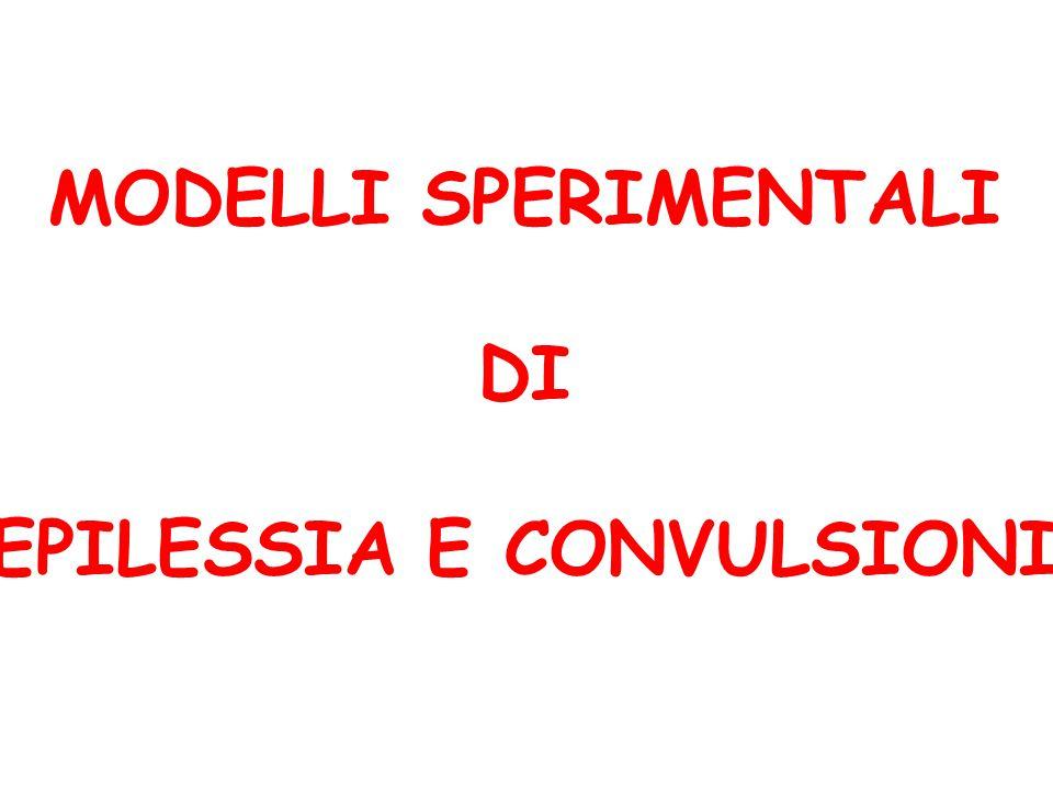 EPILESSIA E CONVULSIONI
