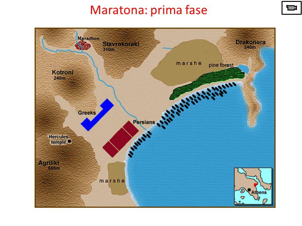 Maratona: prima fase