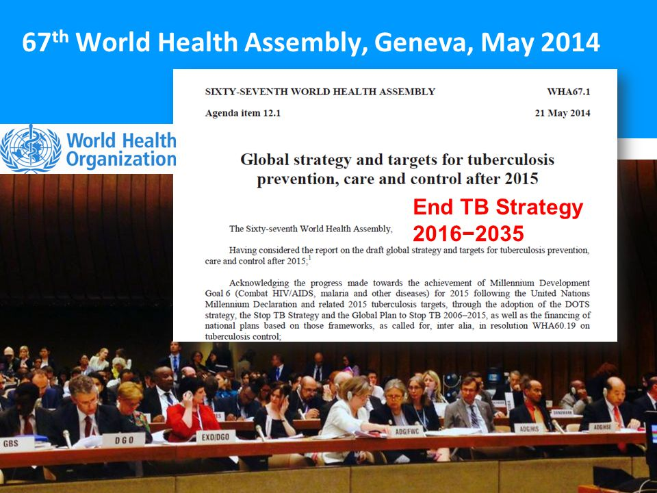 67th World Health Assembly, Geneva, May 2014