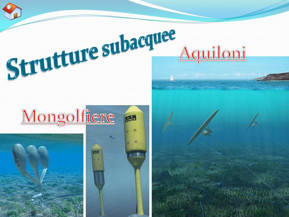 Strutture subacquee Aquiloni Mongolfiere