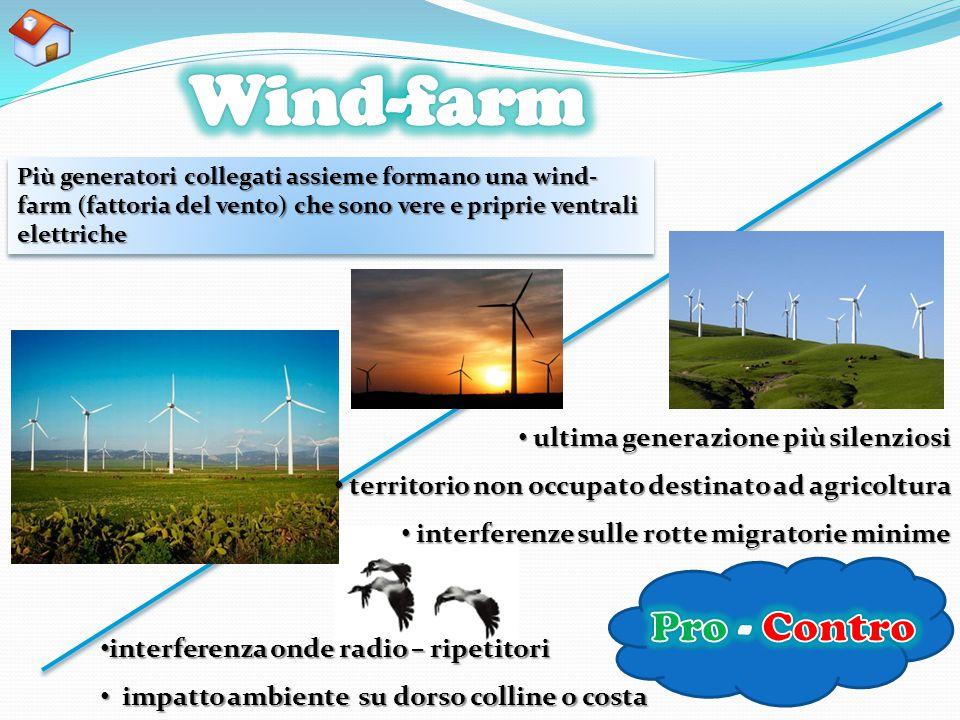 Wind-farm Pro - Contro ultima generazione più silenziosi