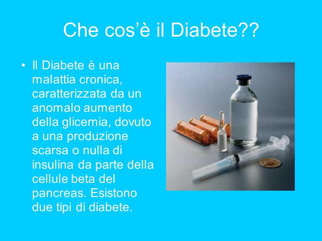 Che cos'è il Diabete
