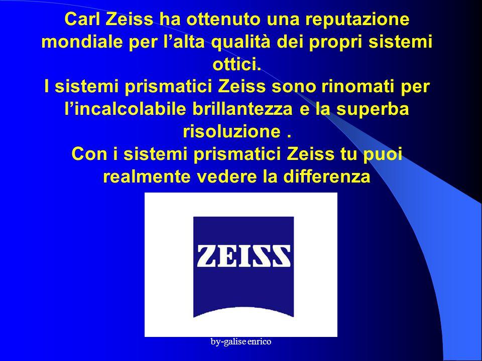 Carl Zeiss ha ottenuto una reputazione mondiale per l'alta qualità dei propri sistemi ottici. I sistemi prismatici Zeiss sono rinomati per l'incalcolabile brillantezza e la superba risoluzione . Con i sistemi prismatici Zeiss tu puoi realmente vedere la differenza .