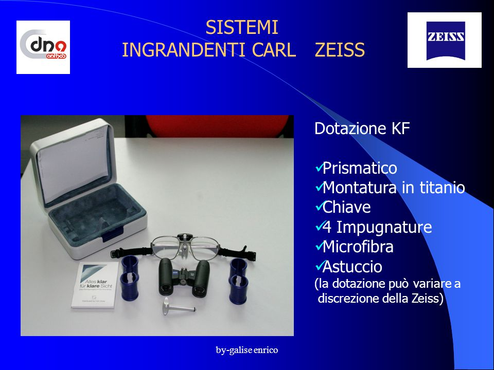 SISTEMI INGRANDENTI CARL ZEISS