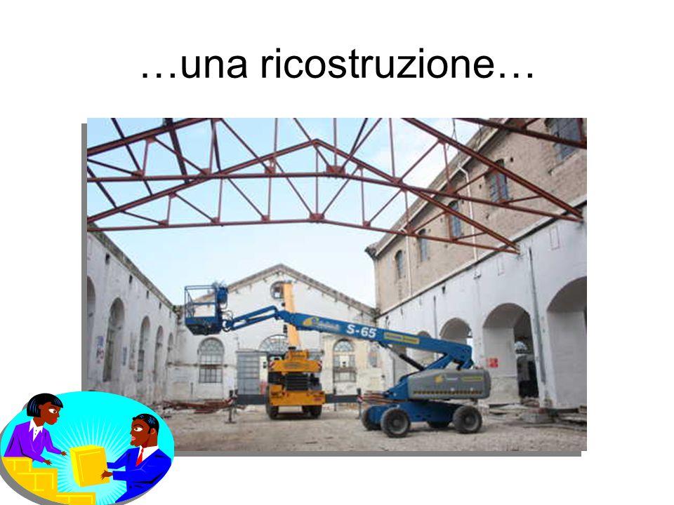 …una ricostruzione…