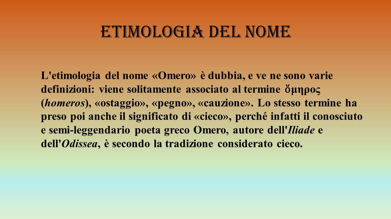 Etimologia del nome