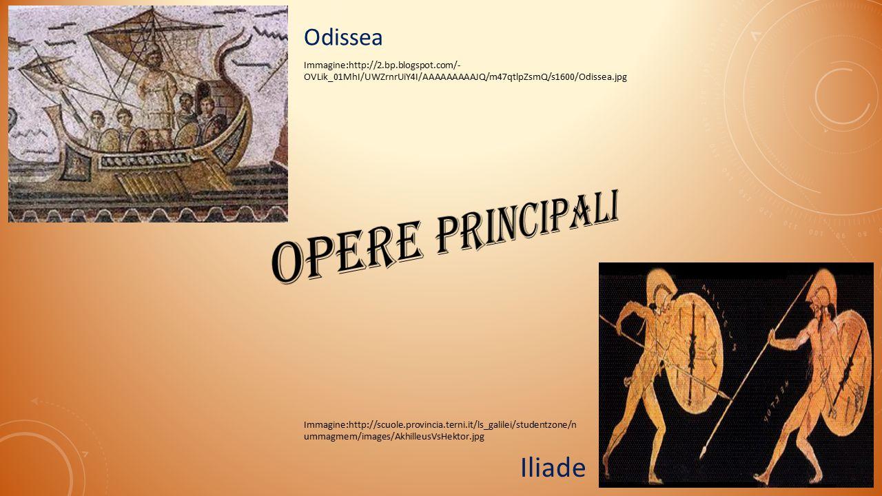 opere principali Iliade Odissea