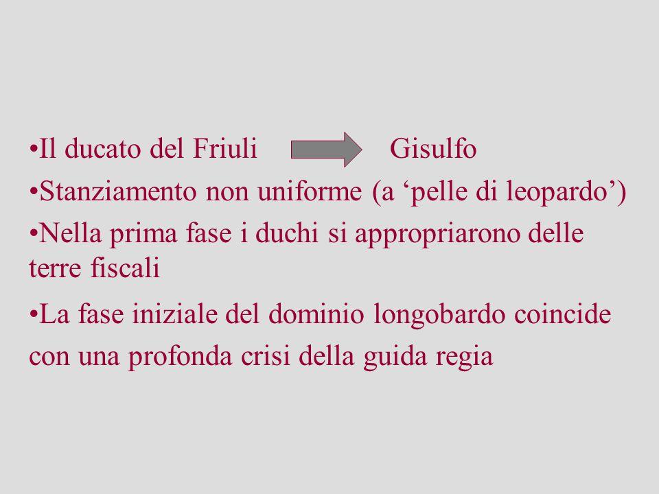 Il ducato del Friuli Gisulfo
