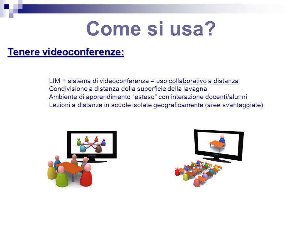 Come si usa Tenere videoconferenze:
