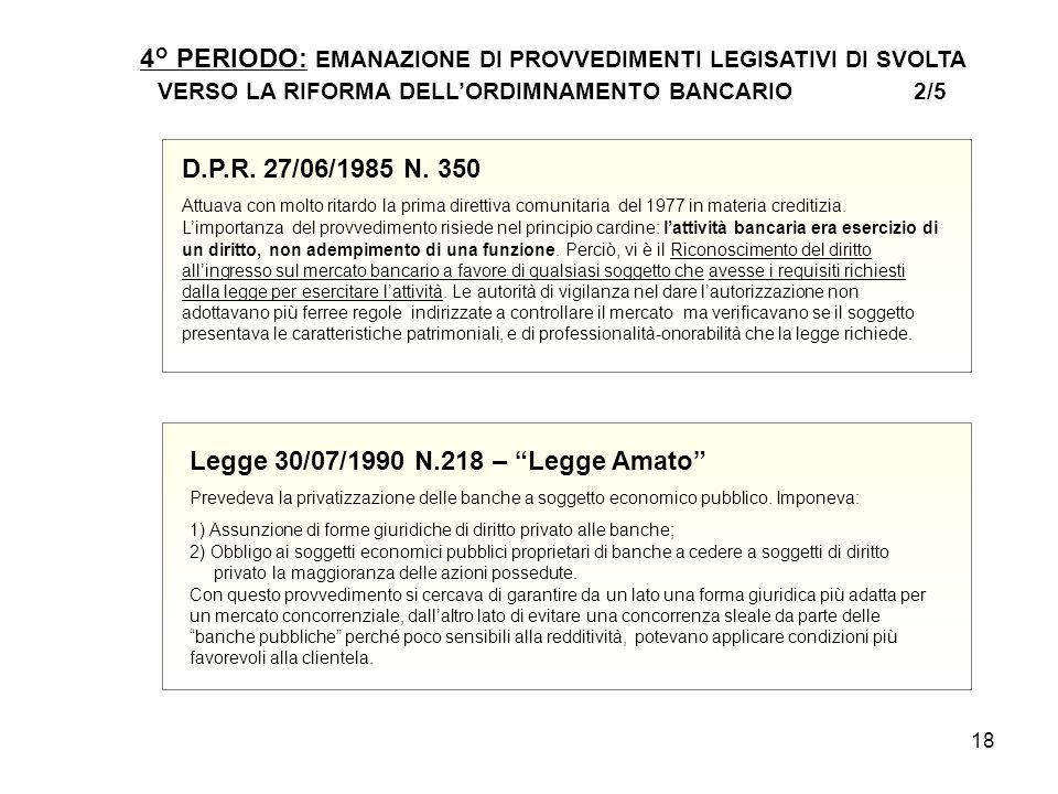 Legge 30/07/1990 N.218 – Legge Amato