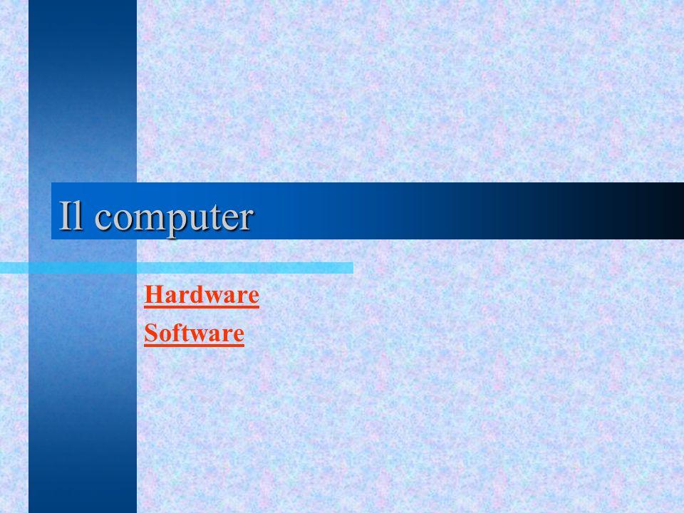 Il computer Hardware Software