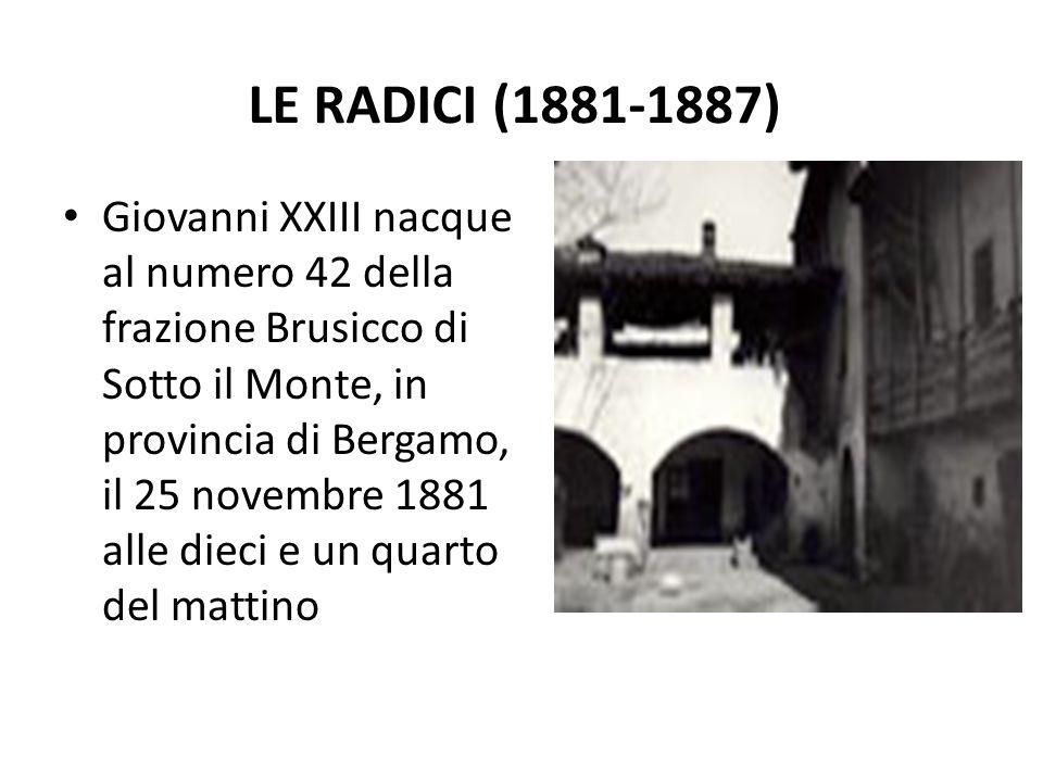 Le radici (1881-1887)