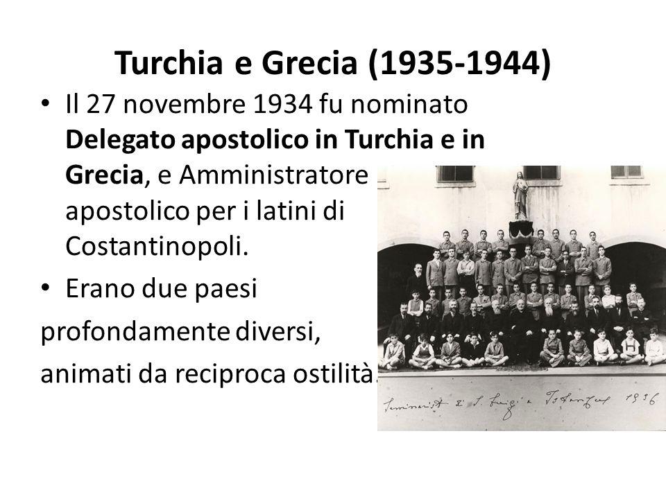 Turchia e Grecia (1935-1944)