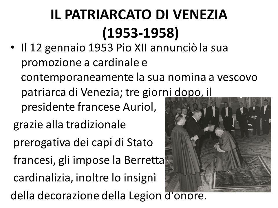 Il patriarcato di Venezia (1953-1958)