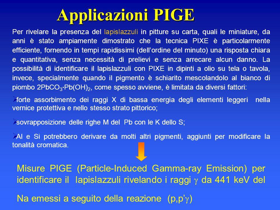 Applicazioni PIGE