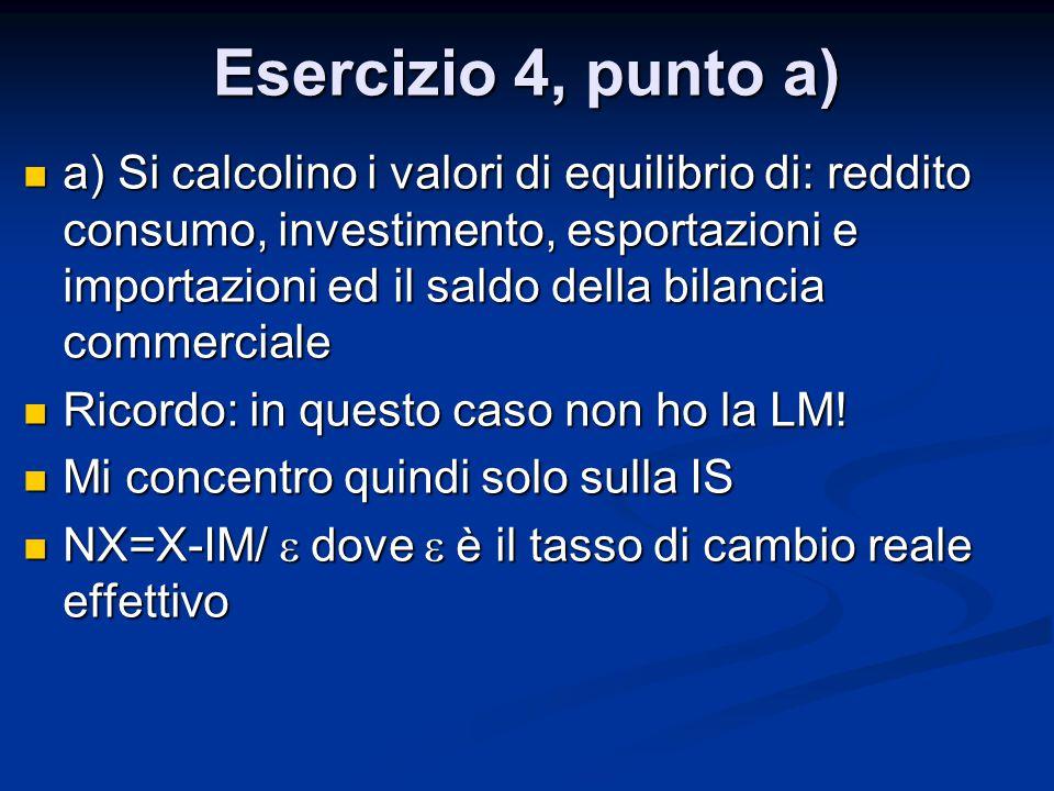 Esercizio 4, punto a)