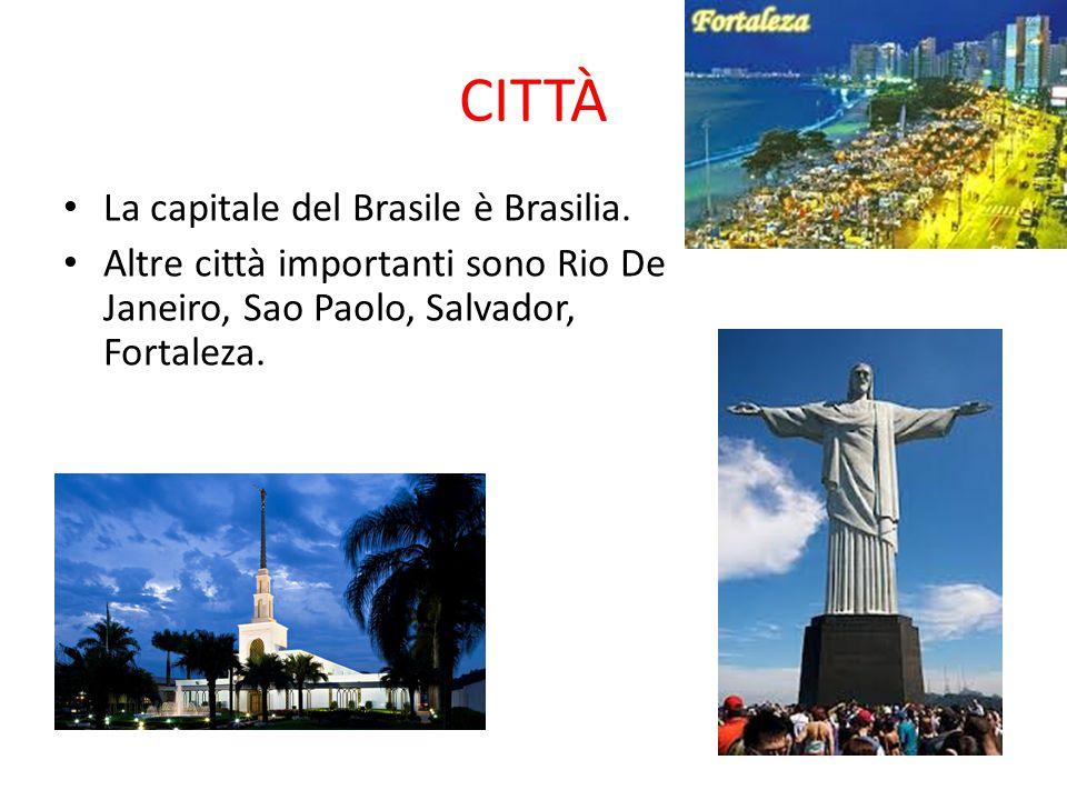 CITTÀ La capitale del Brasile è Brasilia.