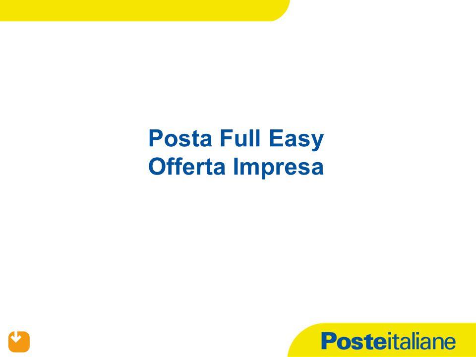Posta Full Easy Offerta Impresa