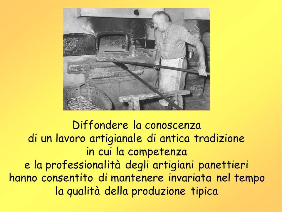 Diffondere la conoscenza di un lavoro artigianale di antica tradizione