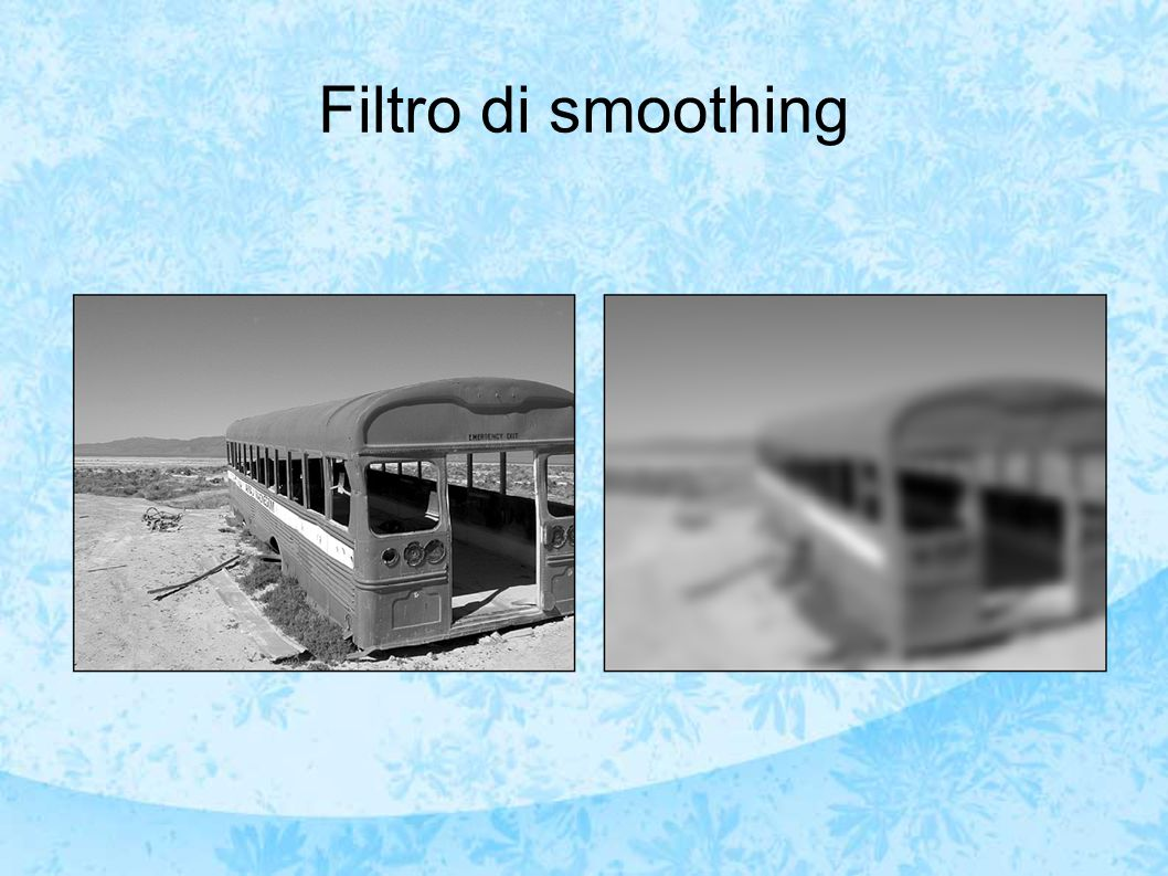 Filtro di smoothing