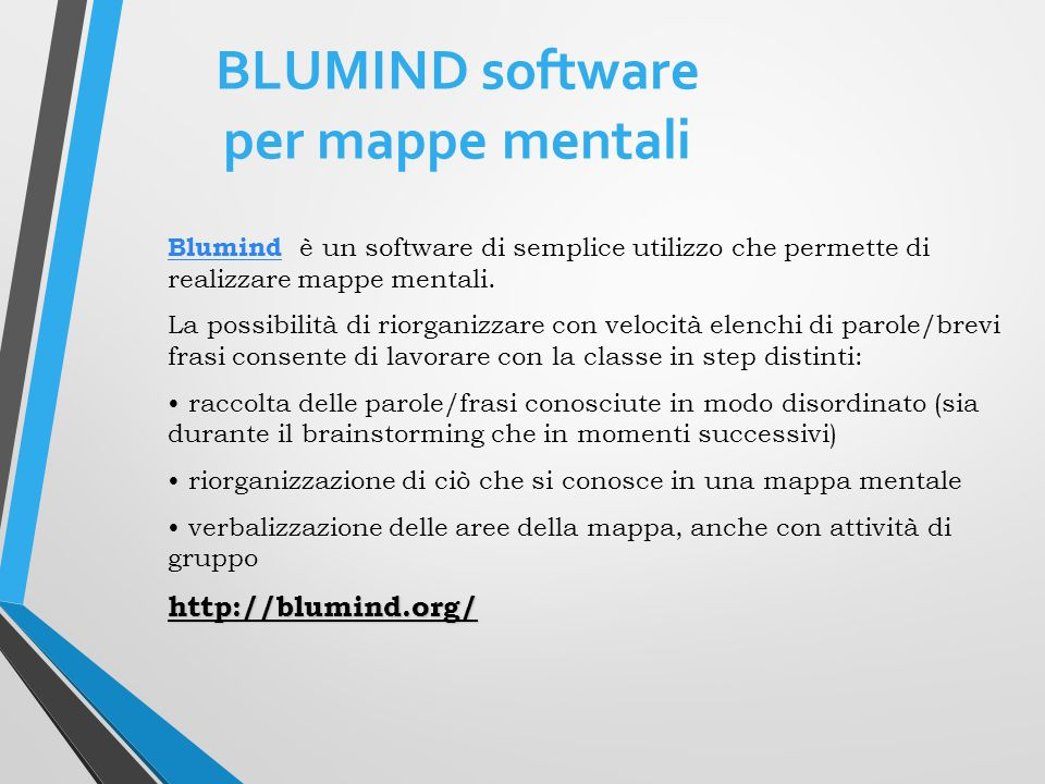 BLUMIND software per mappe mentali