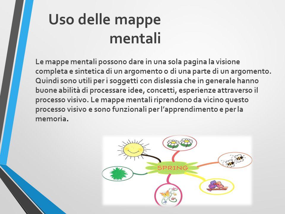 Uso delle mappe mentali