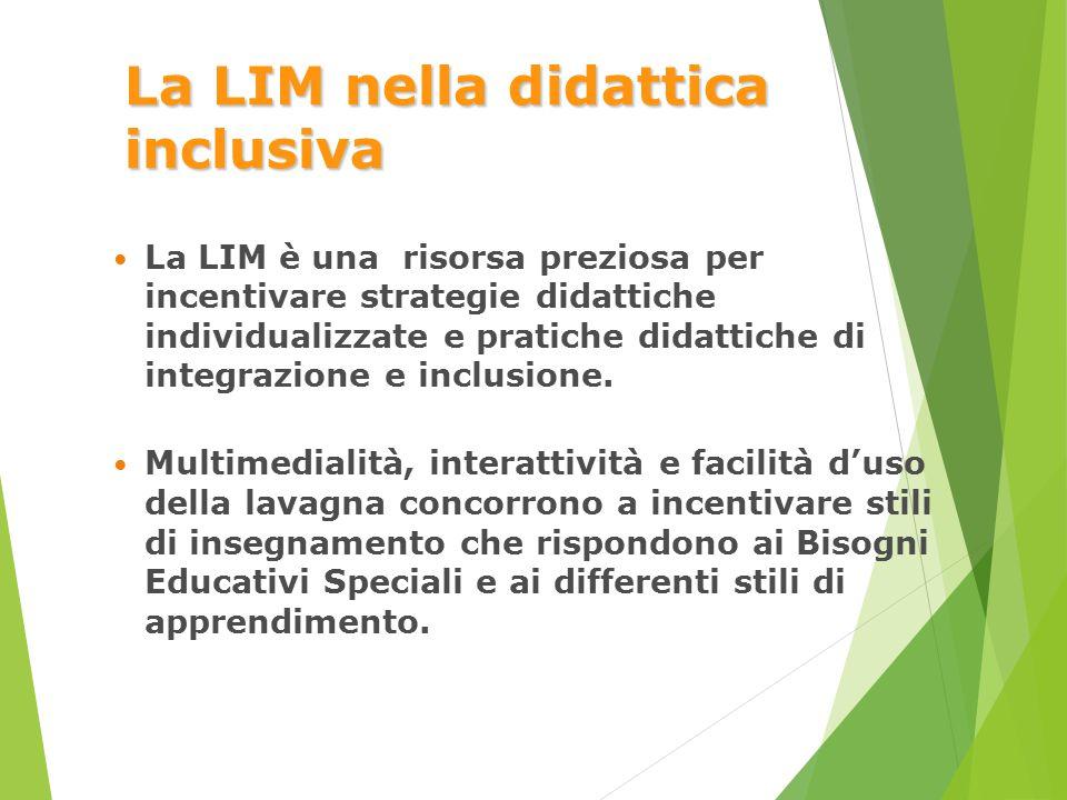 La LIM nella didattica inclusiva