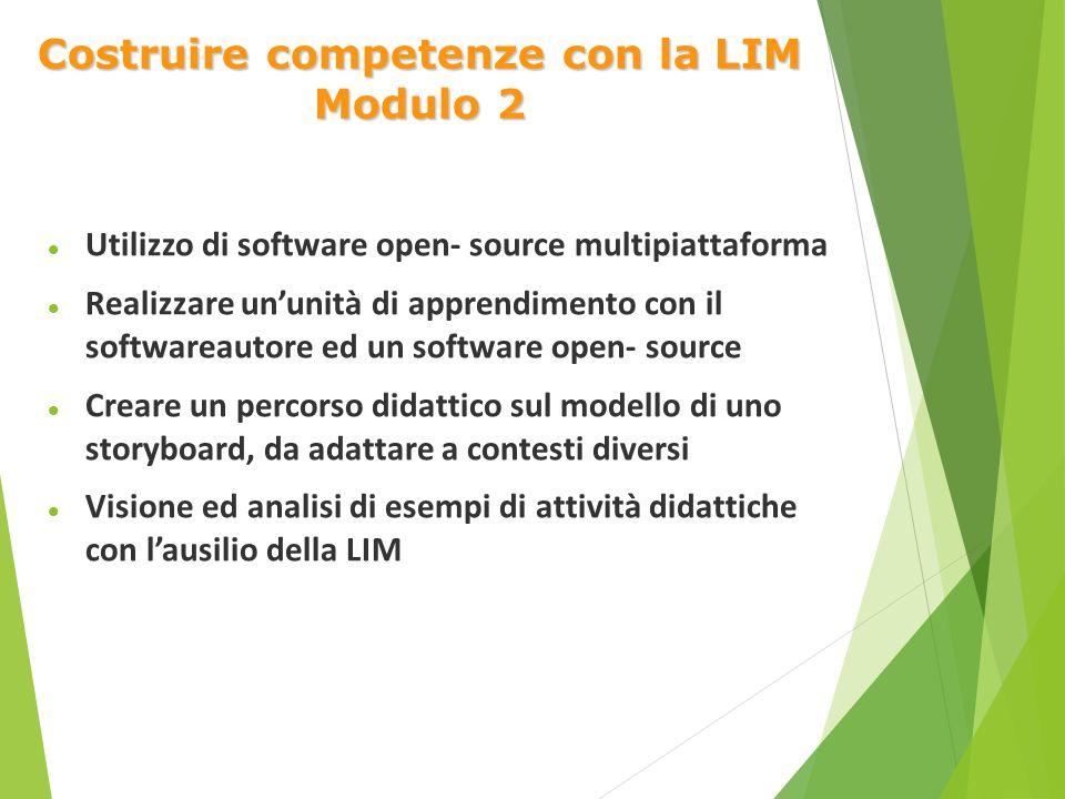 Costruire competenze con la LIM Modulo 2