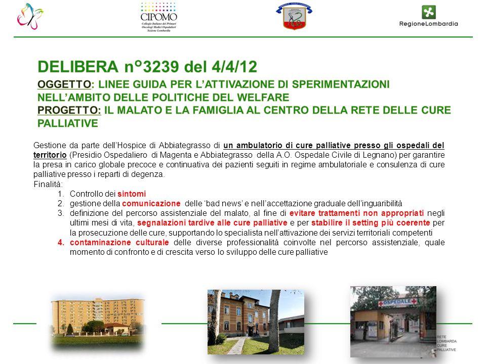DELIBERA n°3239 del 4/4/12 OGGETTO: LINEE GUIDA PER L'ATTIVAZIONE DI SPERIMENTAZIONI NELL'AMBITO DELLE POLITICHE DEL WELFARE.