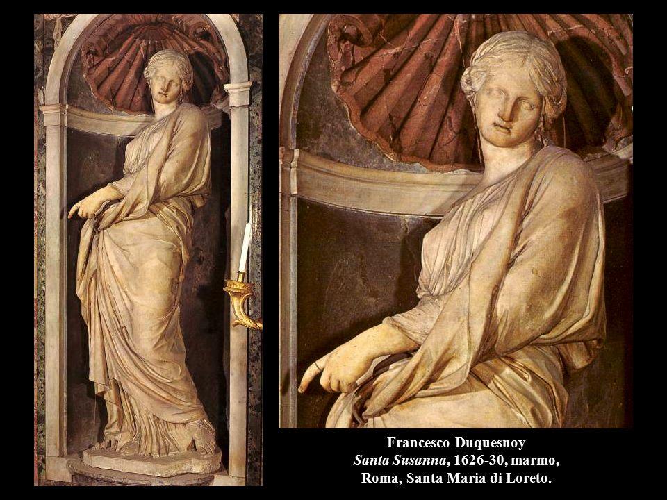 Francesco Duquesnoy Santa Susanna, 1626-30, marmo, Roma, Santa Maria di Loreto.