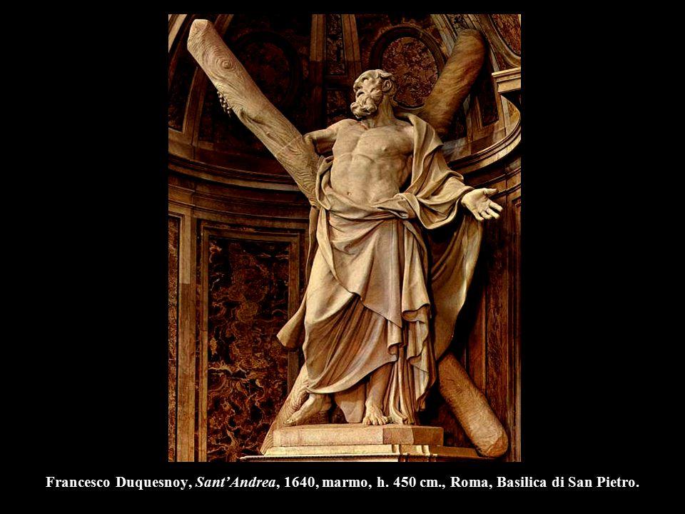 Francesco Duquesnoy, Sant'Andrea, 1640, marmo, h. 450 cm