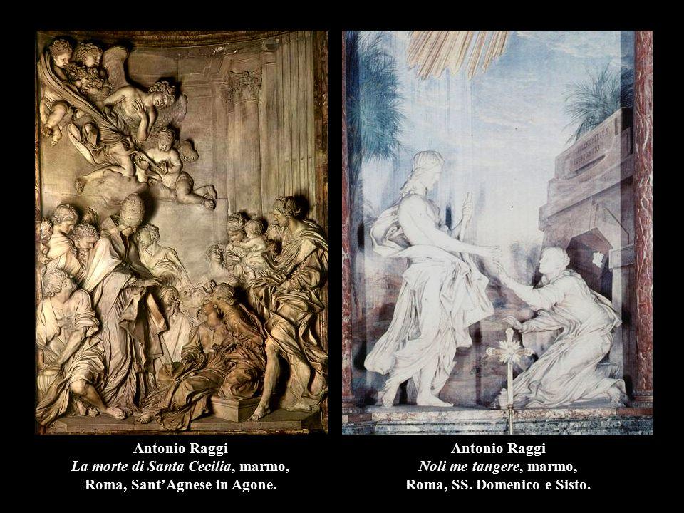 Antonio Raggi Noli me tangere, marmo, Roma, SS. Domenico e Sisto.