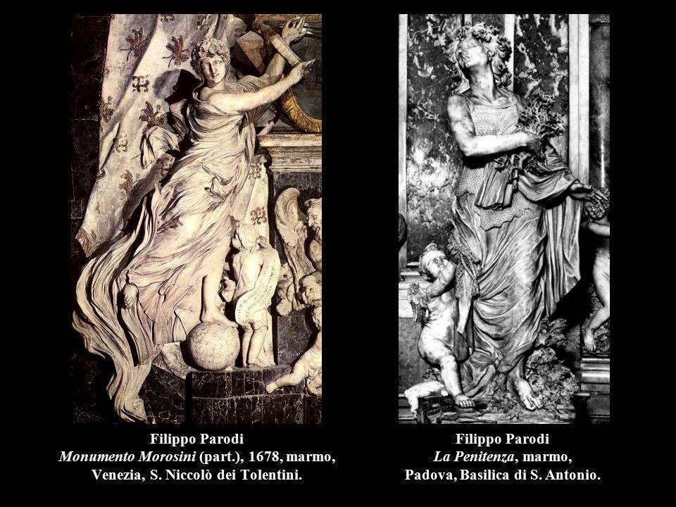 Filippo Parodi La Penitenza, marmo, Padova, Basilica di S. Antonio.