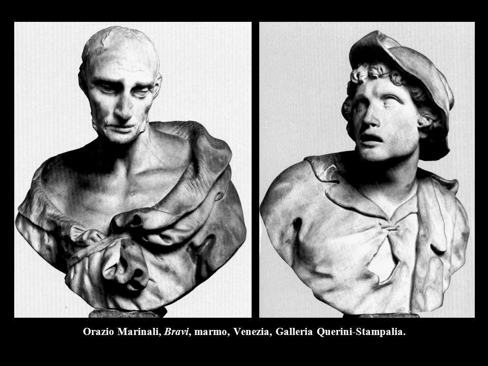 Orazio Marinali, Bravi, marmo, Venezia, Galleria Querini-Stampalia.
