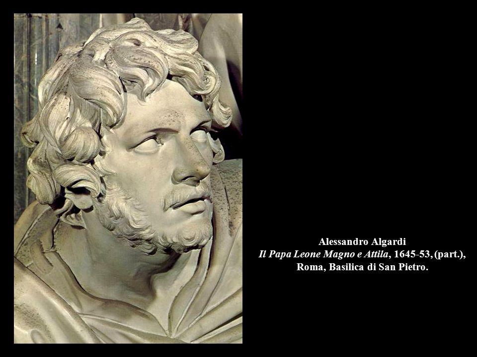 Alessandro Algardi Il Papa Leone Magno e Attila, 1645-53, (part