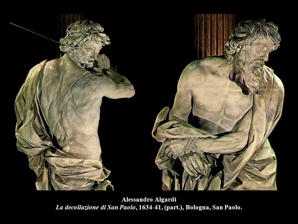 Alessandro Algardi La decollazione di San Paolo, 1634-41, (part