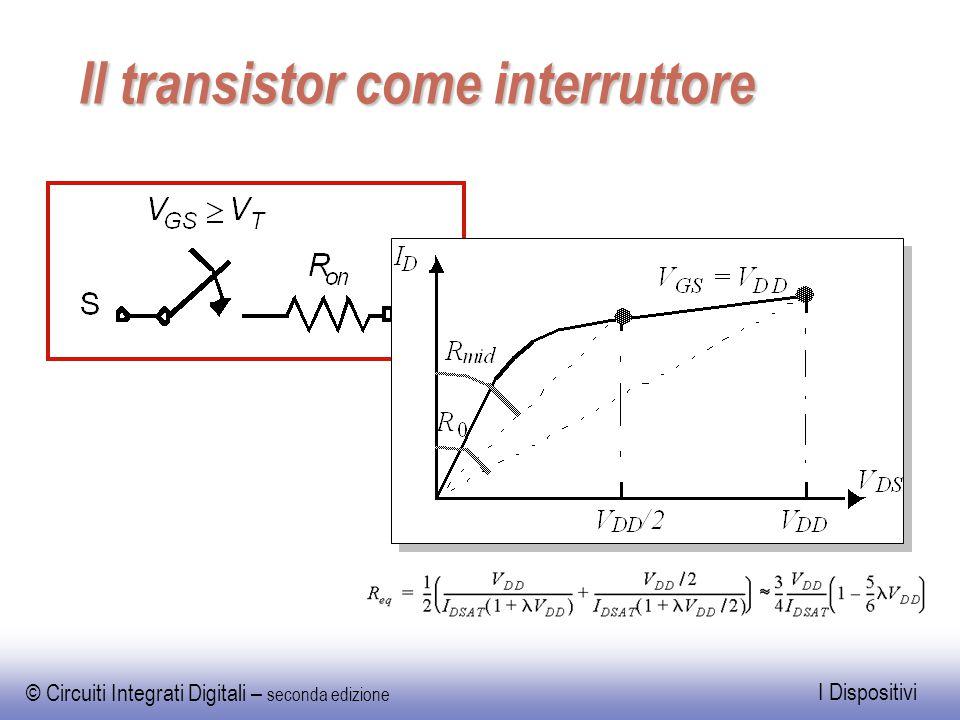 Il transistor come interruttore