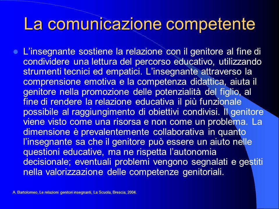 La comunicazione competente