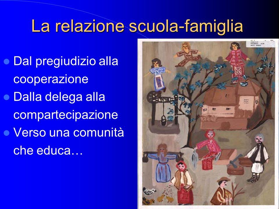La relazione scuola-famiglia