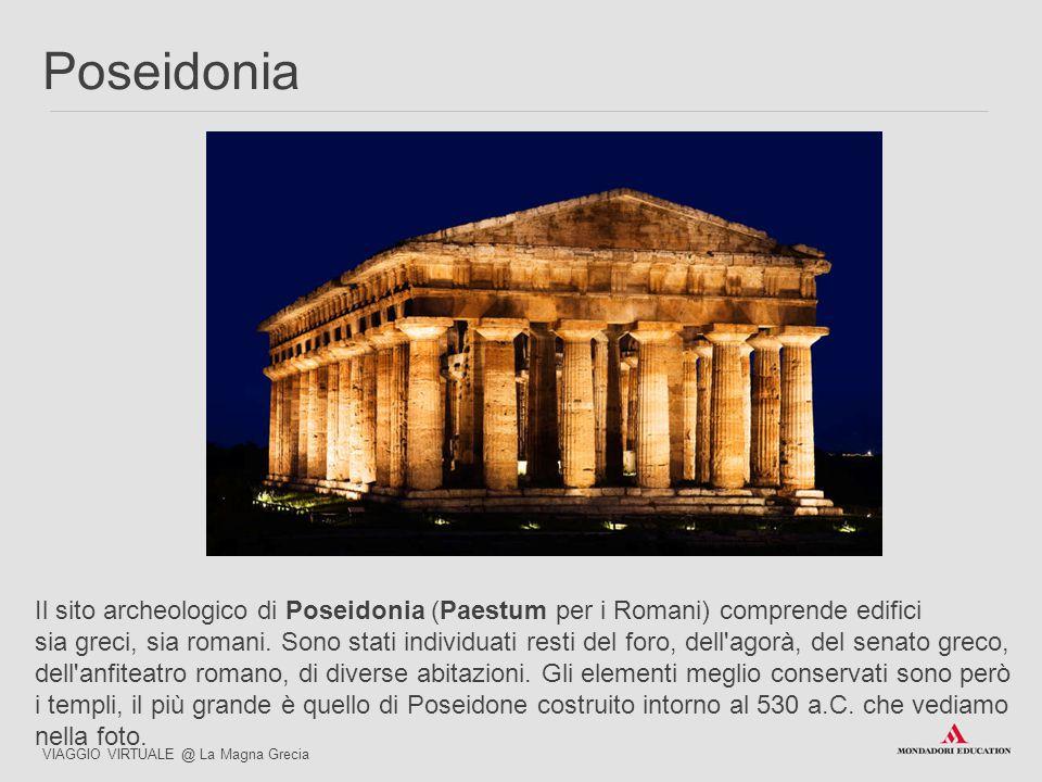 03/07/12 Poseidonia. Il sito archeologico di Poseidonia (Paestum per i Romani) comprende edifici.