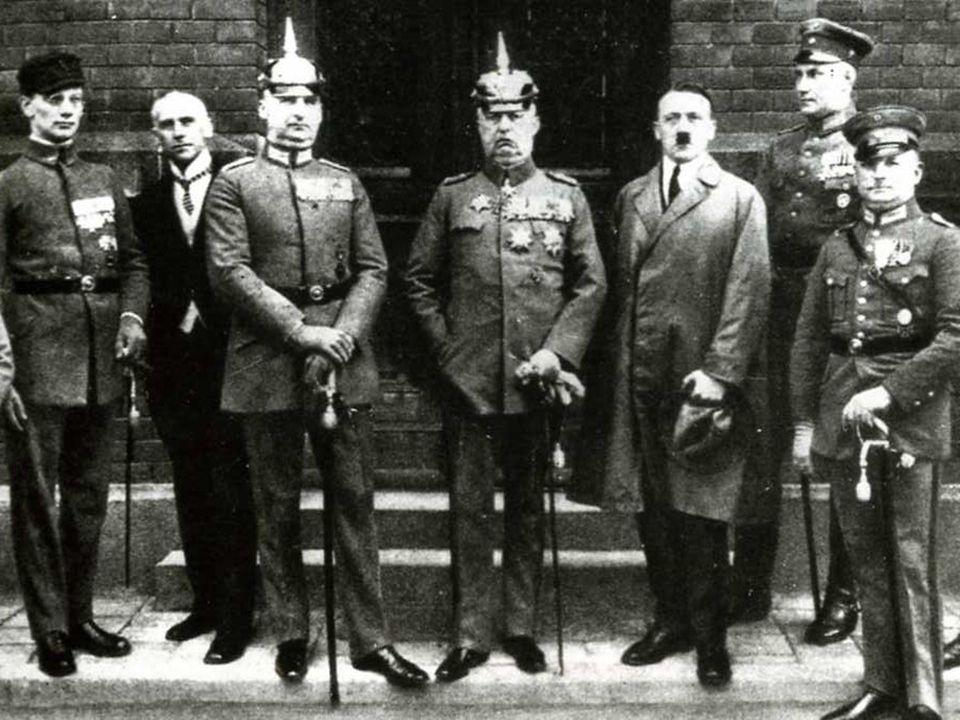 Aprile 1924: principali imputati per il tentato colpo di stato.
