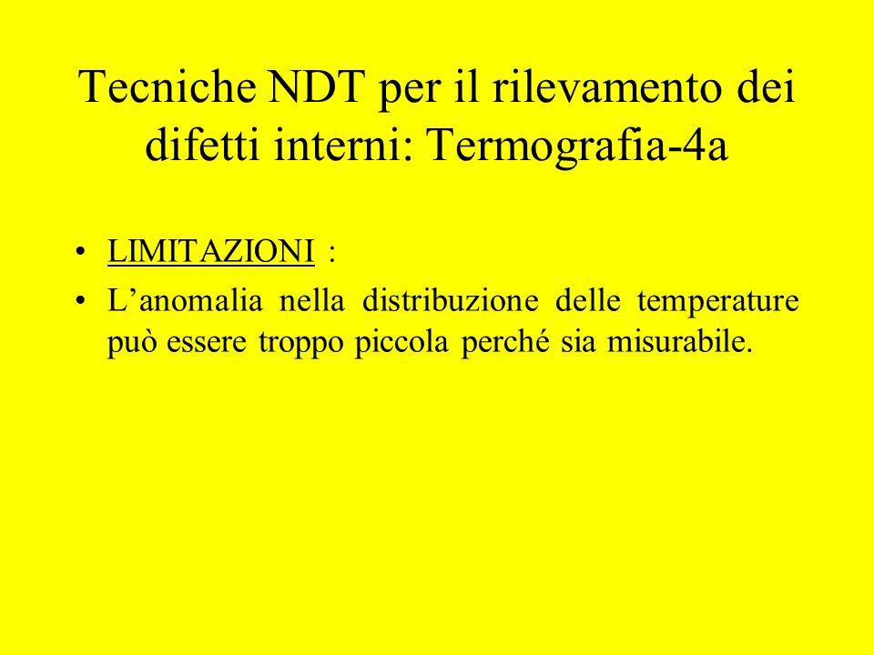 Tecniche NDT per il rilevamento dei difetti interni: Termografia-4a