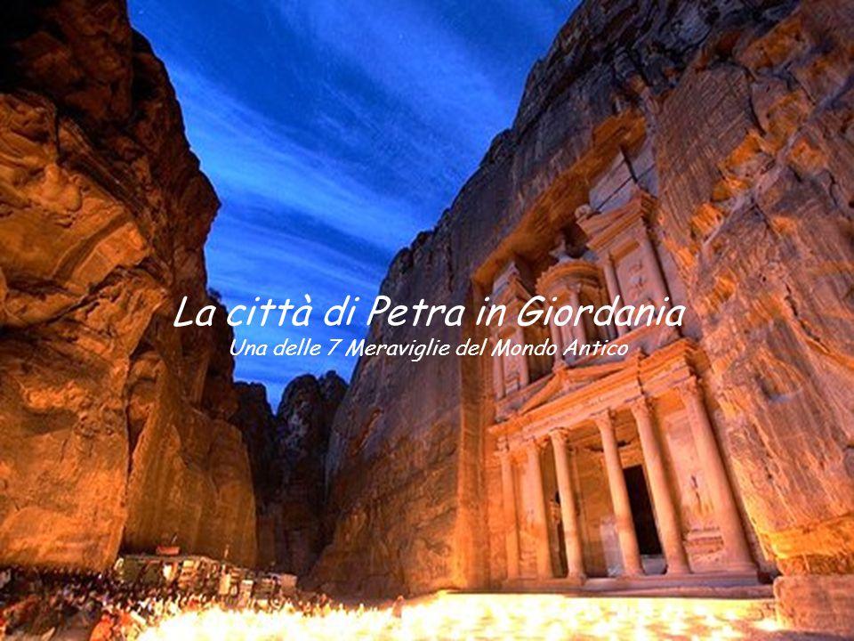 La città di Petra in Giordania