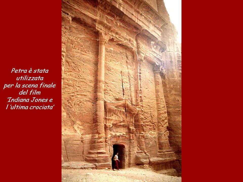 Petra è stata utilizzata per la scena finale del film 'Indiana Jones e