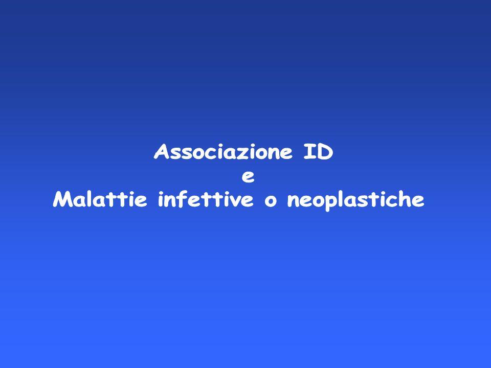 Malattie infettive o neoplastiche