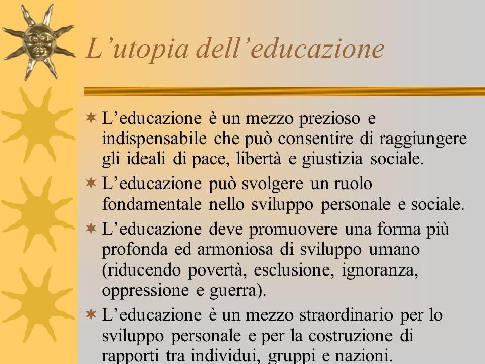 L'utopia dell'educazione