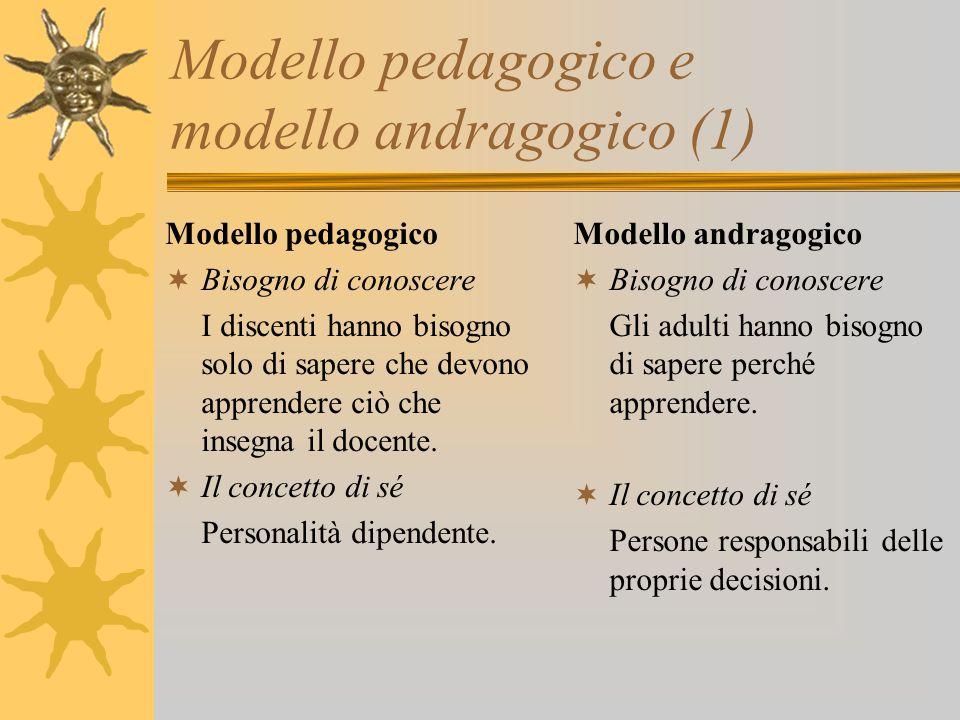 Modello pedagogico e modello andragogico (1)